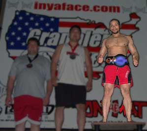Dave Carter - 1st Place Grappler's Quest